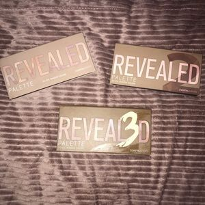 Coastal scents revealed eyeshadow  palettes
